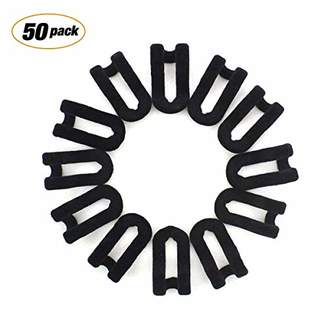 Bondream 50 pcs Mini Cascading Hanger Hooks Connector for Stack Clothes and Make Your Closet Space-saving