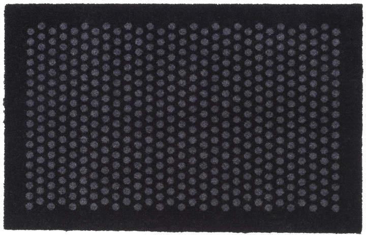 tica copenhagen - Dot Fußmatte, schwarz / grau, 60 x 90 cm