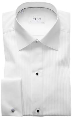 Eton Slim Fit Pleated Bib Tuxedo Shirt