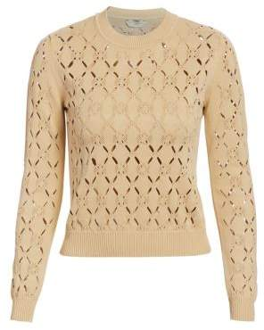 Fendi Cutout Knit Pullover