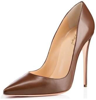 5cea534fbd7 Nancy Jayjii NJPU Classic Formal Pumps for Women Pointy Toe High Heels  Stilettos Office Shoes 7