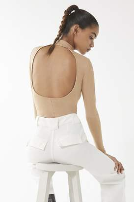 Urban Outfitters Tori Open-Back Turtleneck Top