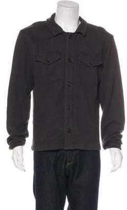 Billy Reid Knit Button-Up Jacket
