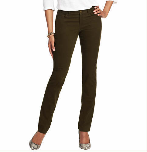 LOFT Tall Julie Straight Leg Corduroy Pants