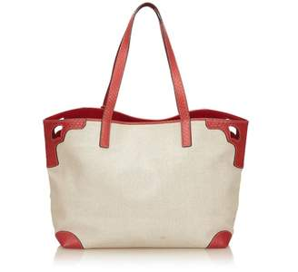 Cartier Vintage Canvas Marcello De Tote