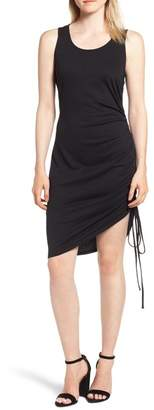 Trouve Trouv? Side Shirred Body-Con Dress