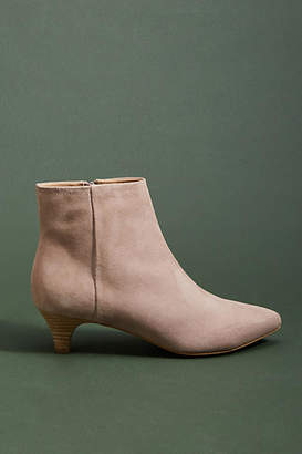 Anthropologie Taylor Kitten-Heeled Booties