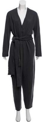 Chloé Knit Long Sleeve Jumpsuit