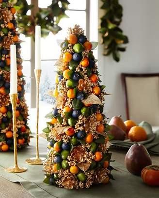 "Salzburg Creations Autumn Beauty Tabletop Christmas Tree - 18"""