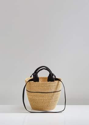 Muun Line Straw Bag