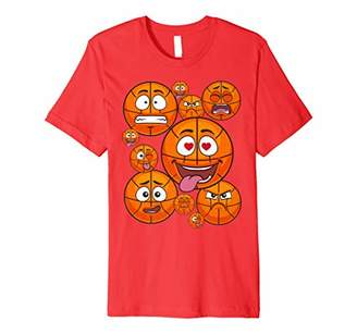 I Love Emoticon Basketball Pack Combo Emoticon Shirt 4 Game
