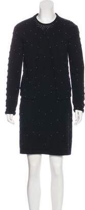 Chanel Camellia Dress Set