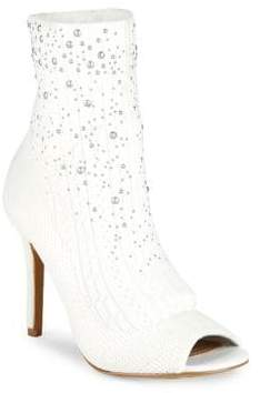 Charles by Charles David Beaded Stretch Knit Booties