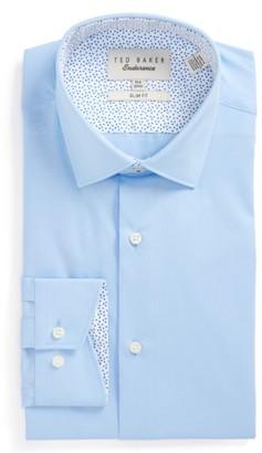 Men's Ted Baker London Booker Slim Fit Dress Shirt $98.50 thestylecure.com