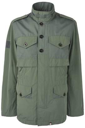 Pretty Green Contrast Fabric M65 Jacket
