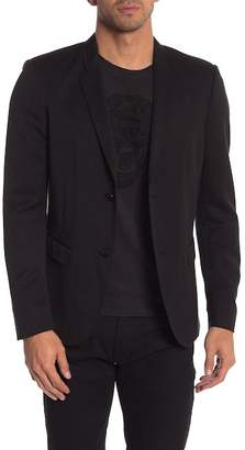 Diesel Notch Collar Front Button Blazer