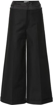 REJINA PYO Tate cotton-blend trousers