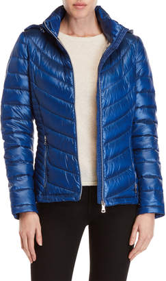 Calvin Klein Packable Down Hooded Jacket