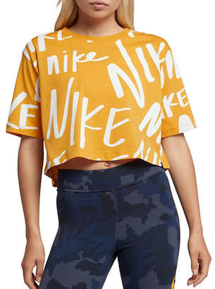 Nike NSW Cotton Cropped Top