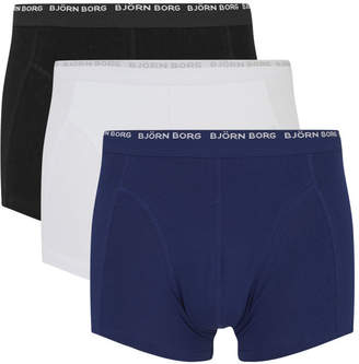 Bjorn Borg Men's Basic 3 Pack Boxer Shorts