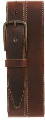 Men's Allen Edmonds 'Central Ave' Leather Belt $88 thestylecure.com