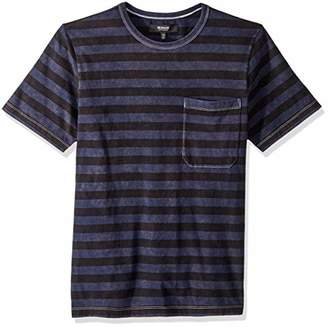 Hudson Jeans Men's Crewneck Pocket Tee Shirt