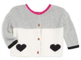 Catimini Baby's& Little Girl's Front and Back Cardigan