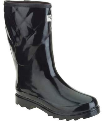 FOREVER YOUNG Forever Young Women's Short Quilted Rain Boot