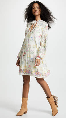 Spell and the Gypsy Collective Posy Long Sleeve Mini Dress