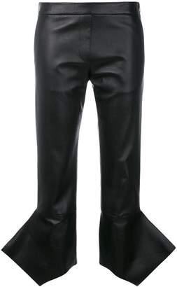 Neil Barrett structured cuff trousers