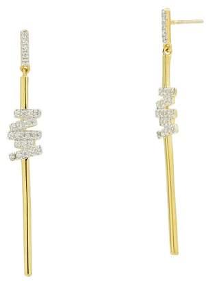 Freida Rothman Radiance Cubic Zirconia Drop Earrings