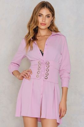Glamorous Corset Shirt Dress