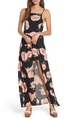 Band of Gypsies Floral Maxi Romper