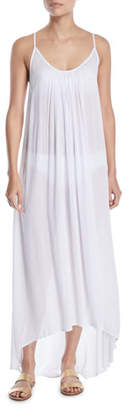 Mikoh Biarritz High-Low Maxi Coverup Dress