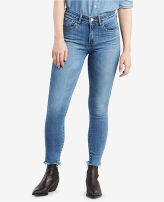 Levi's 721 High-Rise Ripped Skinny Jeans