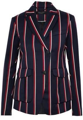 Rag & Bone Striped Wool And Cotton-Blend Blazer