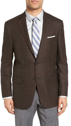 Men's Hart Schaffner Marx Classic Fit Check Wool Sport Coat $495 thestylecure.com