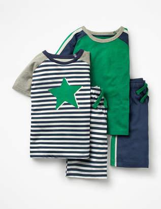 Boden Twin Pack Short Pyjamas