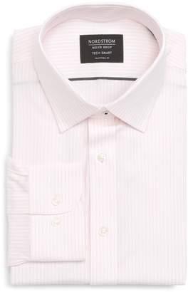Nordstrom Tech-Smart Traditional Fit Stripe Stretch Dress Shirt