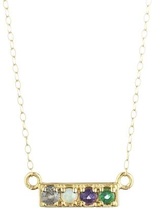 Lulu Frost CODE Word Love Necklace 18k Gold