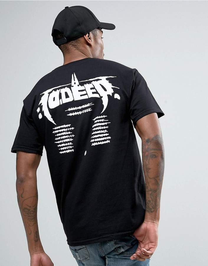 10.Deep 10 Deep T-Shirt With Tour Back Print