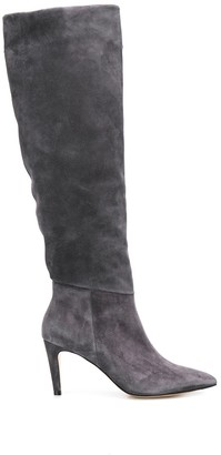 Parallèle smooth texture boots