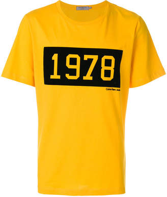 Calvin Klein Jeans 1978 colour-block T-shirt