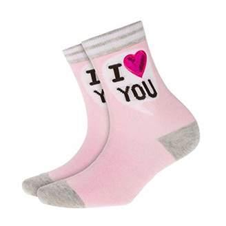 Burlington Women's I I Love U Calf Socks, ), (size: 36-41)