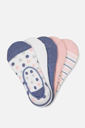 Rubi 5Pk Low Cut Sock