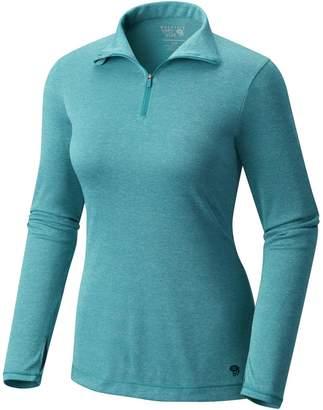 Mountain Hardwear Wicked Printed 1/4-Zip Shirt - Women's
