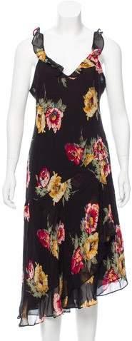 Ralph Lauren Floral Midi Dress