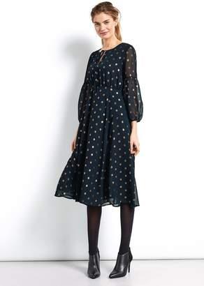 Hush Freesia Midi Dress