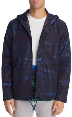 Paul Smith Ocean-Print Hooded Jacket