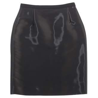 Oscar de la Renta Black Viscose Skirts